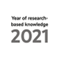 Logo for the year of research-based knowledge